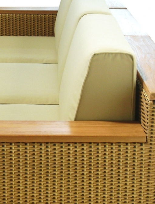 Teak & Synthetic Rattan