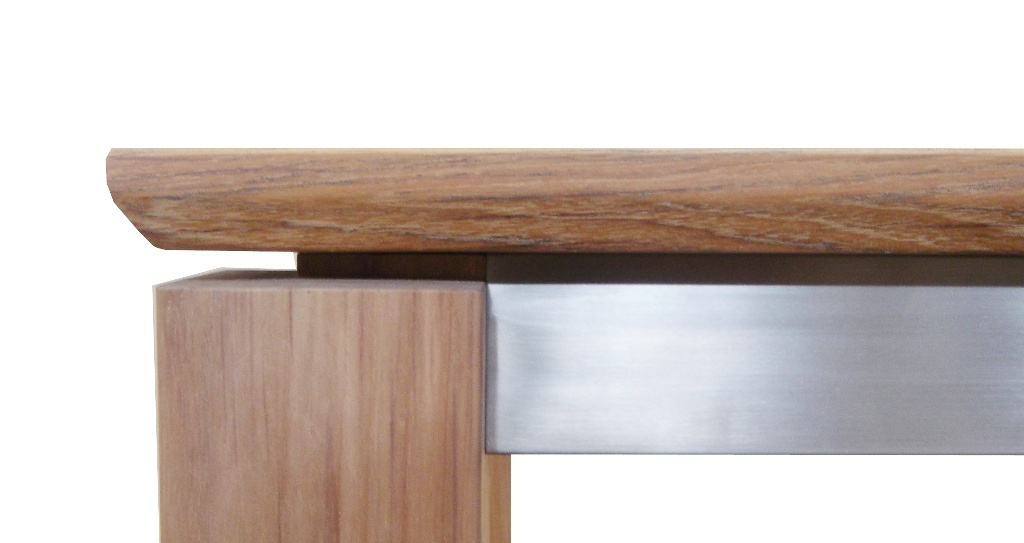 Teak and Stainless Steel