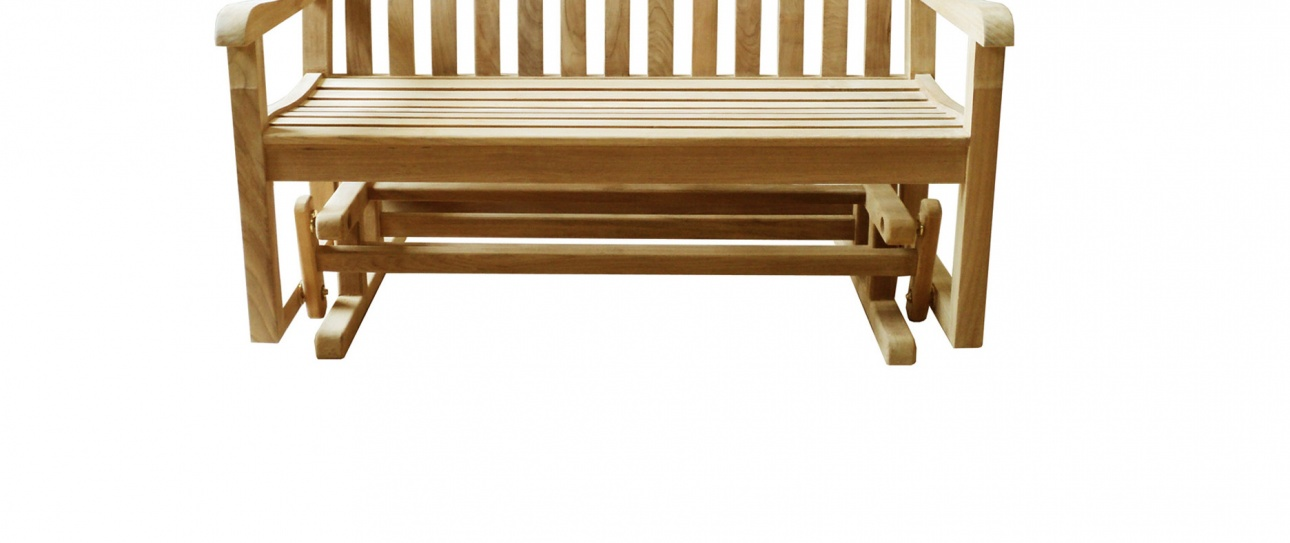 Teak_outdoor_bench_Glider_Classic