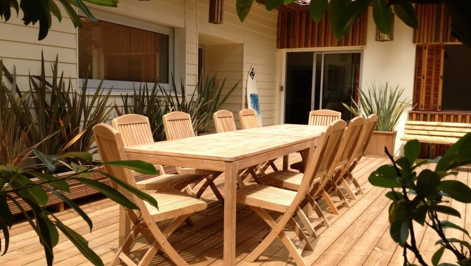 Projects teak outdoor Villa