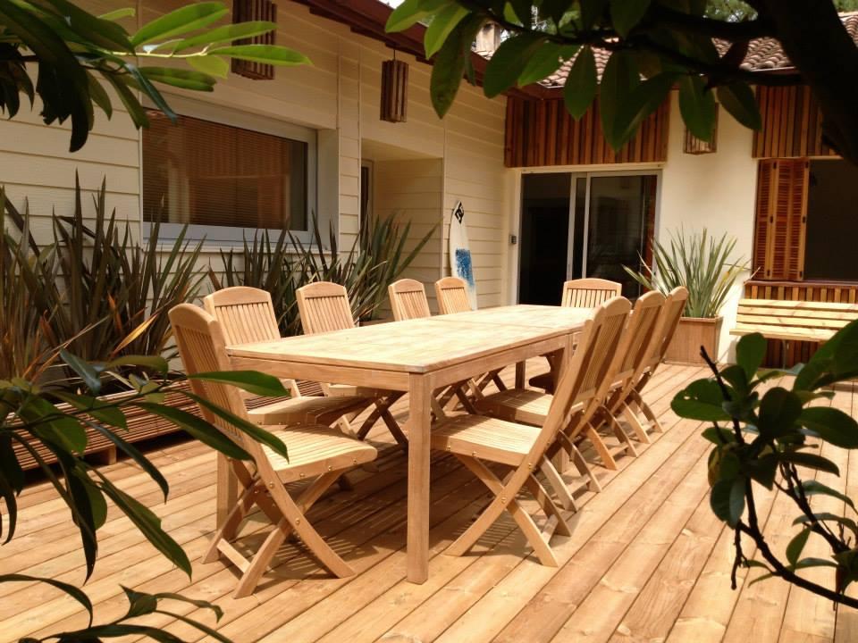 Projects teak outdoor Villa