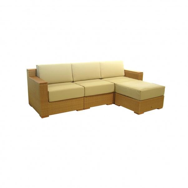 Synth_Rattan_Chair+Chair_Arm_Left_&_Right+Ottoman_Coronado