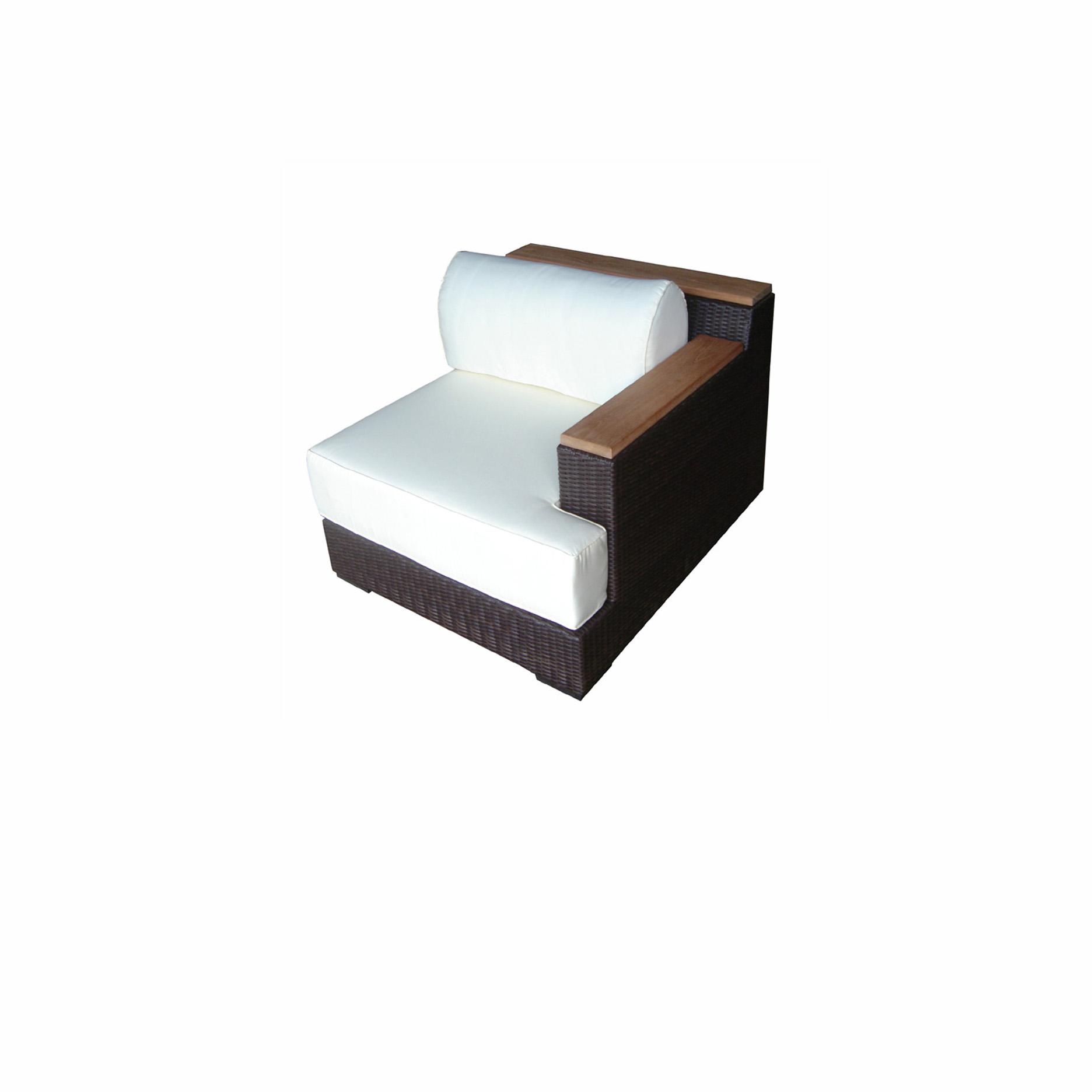 Synth. Rattan Chair Corner Modular   Asia Concept   High ...
