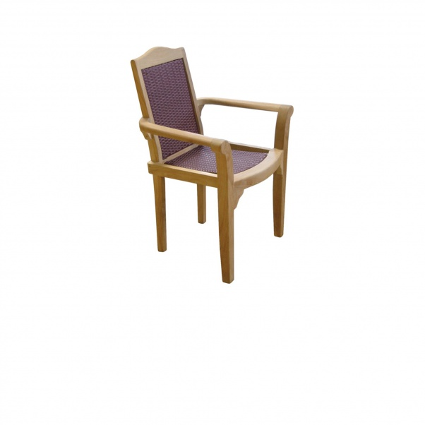 Synth_Rattan_Chair_Stacking_Resto-Brown