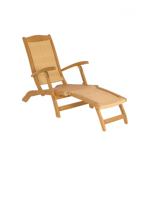 Synth_Rattan_Steamer_Deckchair_Matador+Footstool-Honey_Wicker
