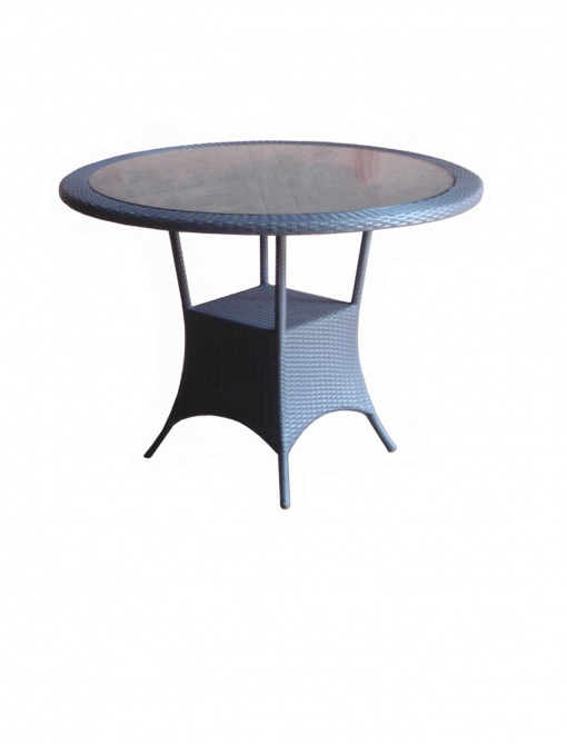 Synth_Rattan_Table_Round_Glass_Top
