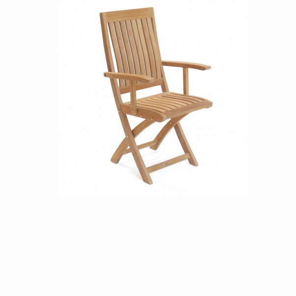 Teak_Chair_Folding_Arm_Corona