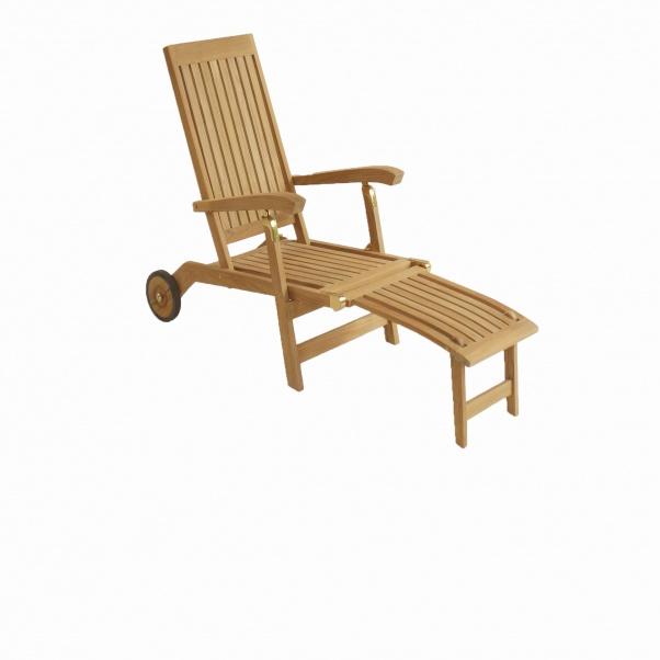 Teak_Steamer_Deckchair_Corona_With_Wheel