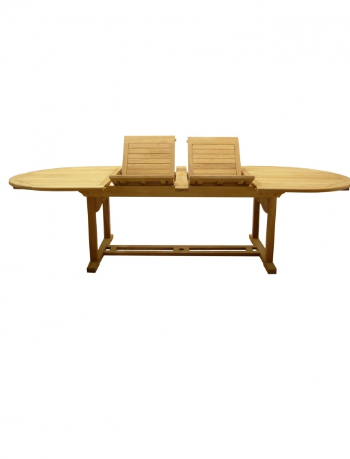 Teak_Table_Extension_Oval_Umbrella_Hole_2x-leaf