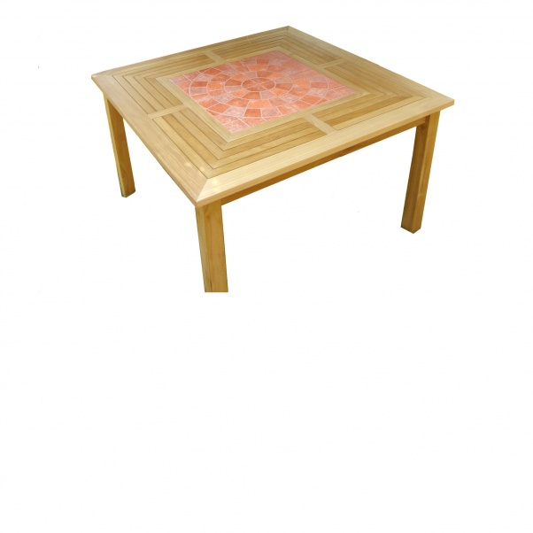 Teak_Table_Recta_Inlay_Tile_Cobblestone